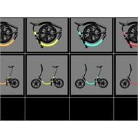 Trafiğe Çözüm: Katlanabilir Bisikletler