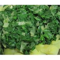 Kolay Ispanak Salatası