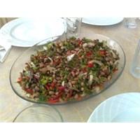 Kuru (Papuda) Börülce Salatası