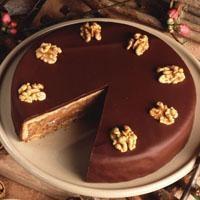 Çikolatalı Cevizli Pasta