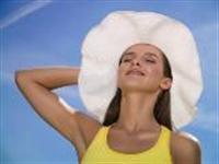 Saçları Güneşten Korumak İçin