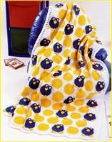 Baykuşlu Bebek Battaniye Örgü Modeli