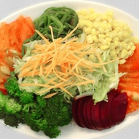 Çeşitli Sebze Salatası
