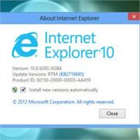 Windows 7 İçin İe10 Final Çıktı!