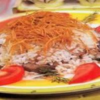 Patlıcanlı Pilav - 2