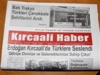 Kırcaalide Türk Gazetesi...