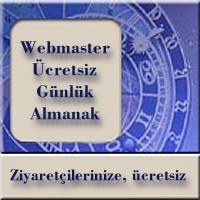 Web Sitesi Sahiplerine Astroloji Almanak