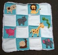 Bebek Battaniyesi Süsleme