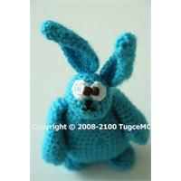 Amigurumi Mavi Tavşan