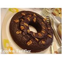 Bitter Çikolatali Toz Pudingli Kek