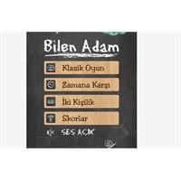 Özel Kelime Oyunu; Bilen Adam (Android)