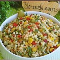 Kuskus Salatası (Resimli Anlatım)