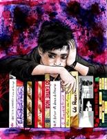 Makyajla Boyanmış Cadı Kitaplar