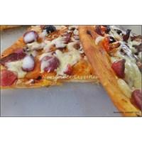 Mayasız Pizza Yapımı Ve Tarifi