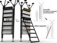 Merdivenli Kitaplık