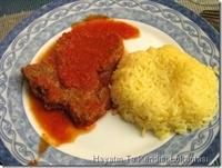 Salçalı Biftek Ve Safranlı Pilav