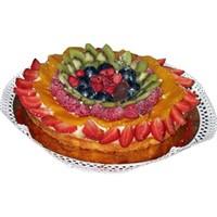 Kremalı Meyveli Kek Tarifi