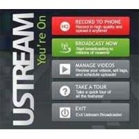Ustream İle Android Cihazınızdan Canlı Yayın Yapın