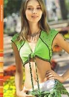 Boncuklu Yeşil Bolero Modeli