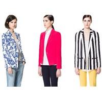Zara Blazer Ceket Modelleri 2013