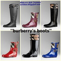 Burberrys Boots !