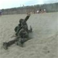 Pilajda Askeri Çıkarma Şakası