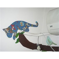 Duvarımda Kedi Var!!