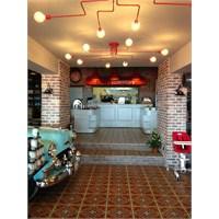 Trabzon'da Chef Edward's Cafe Aydınlatma