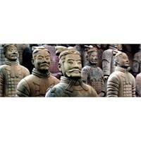 Çin'deki Terra Cotta Savaşçıları