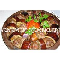 Patlıcanlı Tepsi Kebabı