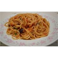 Zeytinli Kremali Spagetti