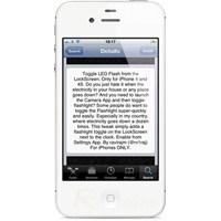 İphone Kilit Ekranında Led El Fenerine Hızlı Geçiş