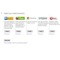 Tarayıcı Seçimi Windows 8'e De Geldi!