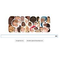 """Google'dan """"Dünya Kadınlar Günü"""" İçin Doodle"""
