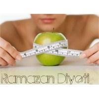 Ramazan Diyetiyle Zayıflayın!