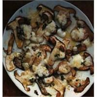 Eritilmiş Mozzarella Peynirli Mantar