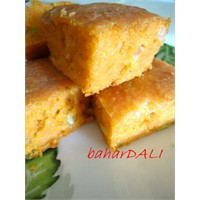 Mısır Unlu Pırasalı Kek