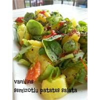 Hardallı Semizotlu Patates Salatası
