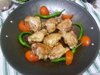 Sac Ta Kızarmıs Tavuk