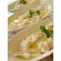 Köz Patlıcan Salatası Ege Usulü
