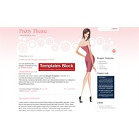 Moda Blogları İçin Ücretsiz Blogger Temaları
