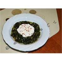 Zeytinyağlı Ispanak Yemek Tarifi