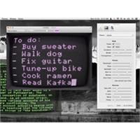 Mac İçin Keyifli Bir Retro Metin Editörü Uygulamas