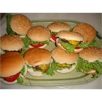 Evde Hamburger Yapalım