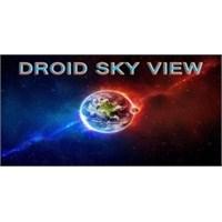 Droid Sky İle Yıldızlar Uygulaması