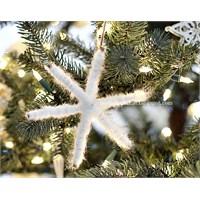 Yilbaşı Ağacı İçin Kar Tanesi Yapımı