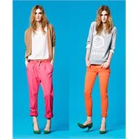 Rengarenk Pantolonlar Her Yerde