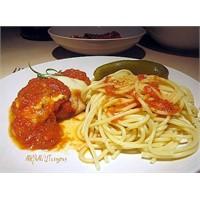 Parmesan Peynirli Tavuk / Chicken Parmesan