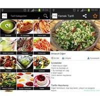 Android Yemek Tarifleri Uygulaması