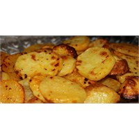 Fırında Baharatlı Halka Patates